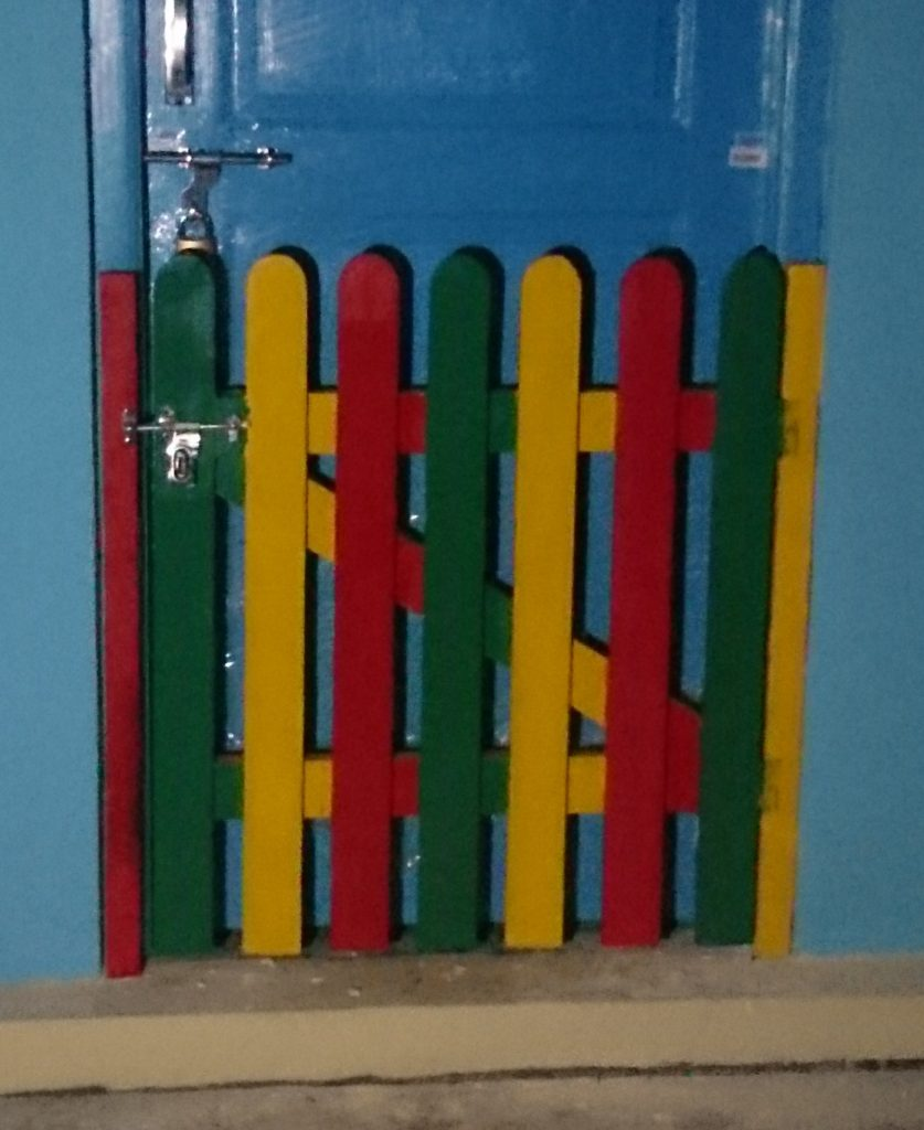 Picket Gate 1
